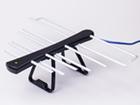 Антеннa комнатная активная ДМВ (логопериодическая) для цифрового ТВ, ЁЛКА (Черно - Черная), блистерная упаковка
