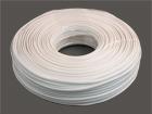 Телефонный кабель 4-х жил. плоский (7x0.1 мягкий) 100м/бухте, белый 2.4x4.8мм