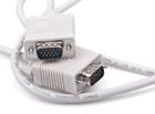 Шнур VGA штекер - VGA штекер, OD5.5мм (в ПЭ-Упаковке)