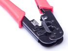 Инструмент для обжима телефонных разъемов RJ45(8P8C), RJ12(6Р6С), RJ11(6P4C), 6P2C