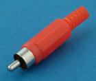 RCA штекер Пл-Мет. 3.2мм
