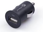 USB-A адаптер (гнездо 2.1А) в  Авто 12-24В прикуриватель, черный, с индикатором