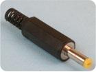 Штекер питания DC 1.4x3.5мм (на кабель) Пл-Мет