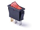 Переключатель клавишный 14мм RWB-403R (ON-OFF) 250V/15A, красный